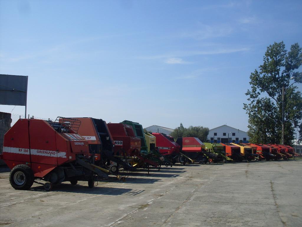 Oferujemy szeroki wybór używanych maszyn do siana